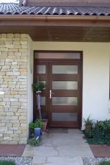 Demény fa bejárati ajtó